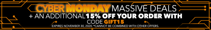 Cyber Monday Deals | Massive Deals + an additional 15% Off your order with code GIFT15