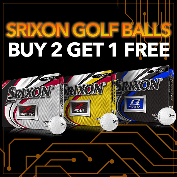 Srixon Golf Balls - Buy 2 get 1 FREE