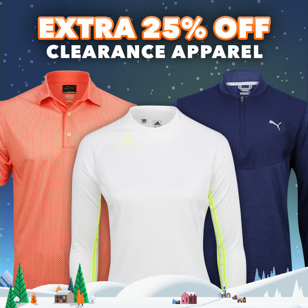 Extra 25% Off on Clearance Apparel