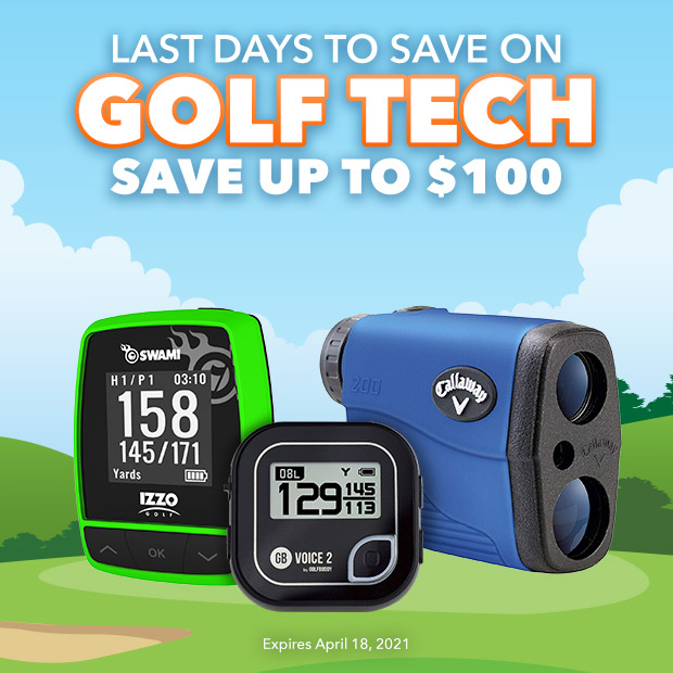 Last Days to Save on Golf Tech | Save Up to $100