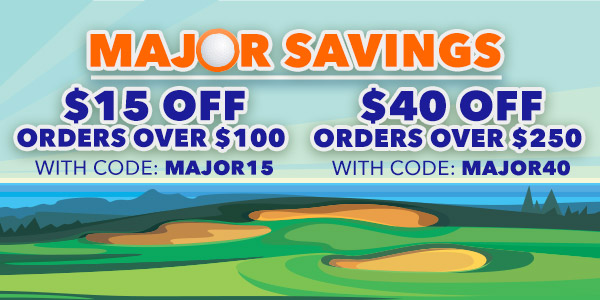Major Savings - $15 off orders over $100 with code: MAJOR15 - $40 off orders over $250 with code: MAJOR40 - Expires May 23rd, 2021
