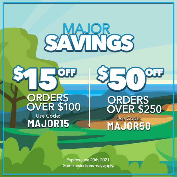 Major Savings:  $15 off orders over $100 with code: MAJOR15 - $50 off orders over $250 with code: MAJOR50