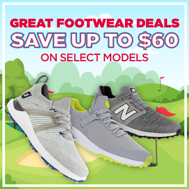 Save Up To $60 On Select Footwear