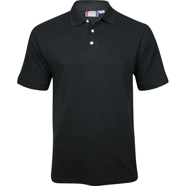 Clique by cutter buck lincoln polo shirt black size l for Cutter buck polo shirt size chart