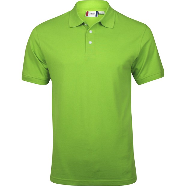 Clique by cutter buck lincoln polo shirt light green for Cutter buck polo shirt size chart