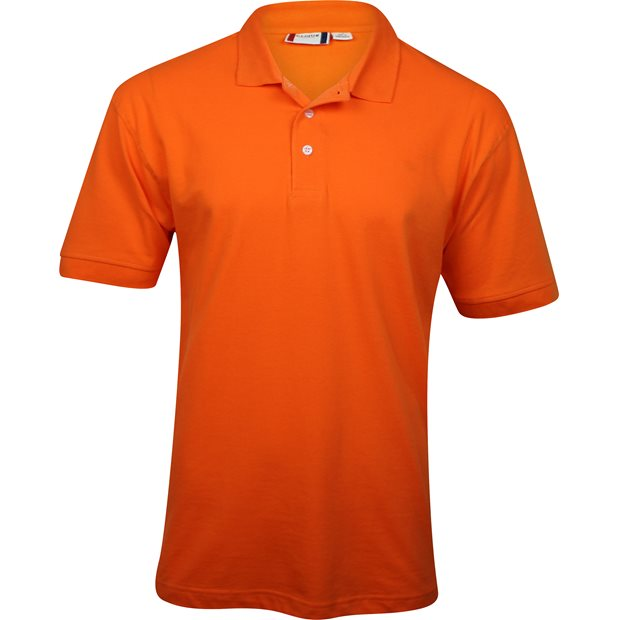 Clique by cutter buck lincoln polo shirt orange size for Cutter buck polo shirt size chart