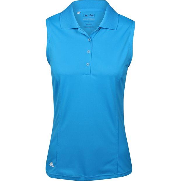 Adidas Puremotion Solid Jersey Sleeveless Women Polo Shirt ...