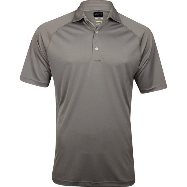 Greg norman ml75 micro lux solid polo shirt almond for Greg norman ml75 shirts