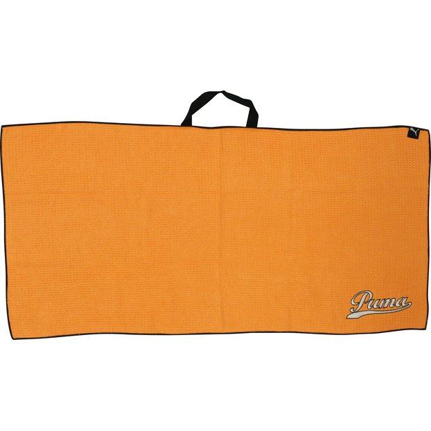 Puma Player S Microfiber Towel Vibrant Orange 3balls Com