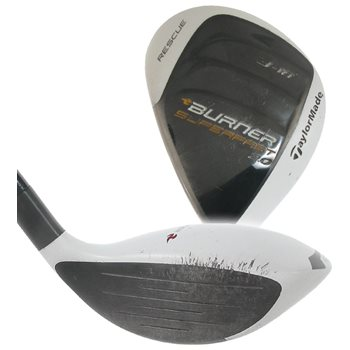 Used TaylorMade Burner SuperFast 2 0 Rescue Left-Handed
