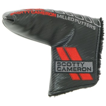 Used Titleist Scotty Cameron Select Blade Putter Headcover -  Black/Red/GreyTitleist Scotty Cameron Select Blade Putter Headcover