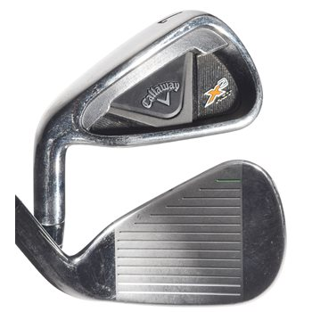 Used Callaway X2 Hot Left Handed 5 9 Iron Set In Bargain Condition