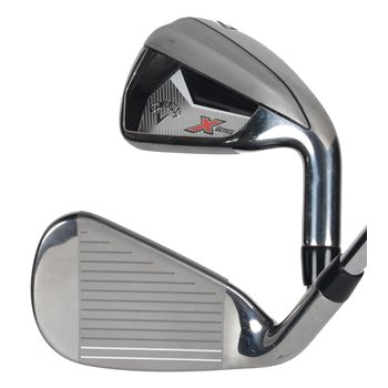 Used Callaway X Series N415 4 Pw Aw Iron Set In Very Good Condition