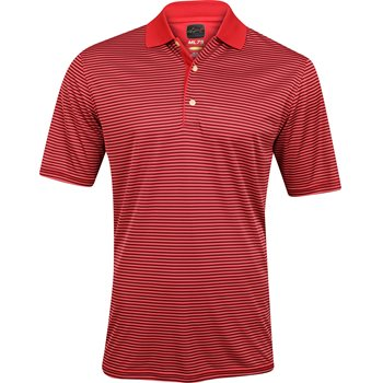 Greg norman ml75 micro lux fine stripe polo shirt for Greg norman ml75 shirts