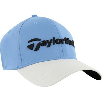 TaylorMade Lifestyle New Era 39Thirty Hat - Sky Blue White Size  M L TaylorMade Lifestyle New Era 39Thirty Headwear d2e15eeb476