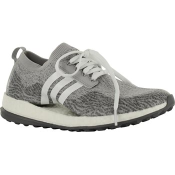 Adidas Pure Boost XG mujeres spikeless Golf zapatos GRIS dos / blanco