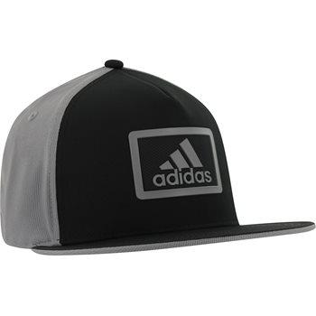 Adidas Block Flat-Brim Hat - BlackAdidas Block Flat-Brim Headwear 721eea92703