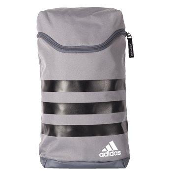 Adidas 3-Stripes Shoe Bag - Grey Black WhiteAdidas 3-Stripes Shoe Bag 13bf9fbedc935