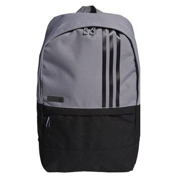 Adidas 3-Stripes Small Backpack Luggage - Grey BlackAdidas 3-Stripes Small  Backpack Luggage